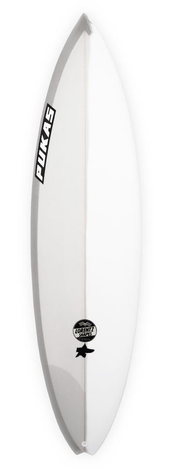 Pukas Surf Surfboards Baby Swallow shaped by Axel Lorentz presented by Kepa Acero