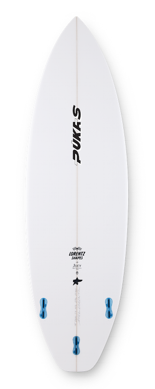 Pukas Surf Surfboards Juicy shaped by Axel Lorentz